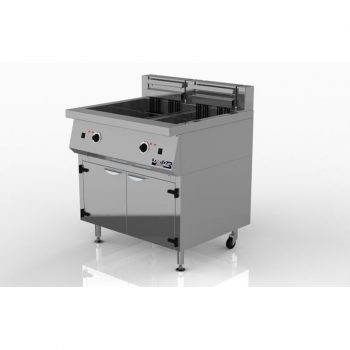 Fryer – 2X20L Electric with Thermostat Control